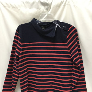 Primary Photo - BRAND: J CREW STYLE: TOP LONG SLEEVE COLOR: STRIPED SIZE: S SKU: 155-15545-195282NAVY AND CORAL