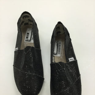 Primary Photo - BRAND: TOMS STYLE: SHOES FLATS COLOR: BLACK SIZE: 10 SKU: 155-155130-206043