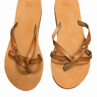 Primary Photo - BRAND: TIME AND TRU STYLE: FLIP FLOPS COLOR: BROWN SIZE: 11 SKU: 155-155228-4640