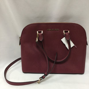 Primary Photo - BRAND: MICHAEL KORS STYLE: HANDBAG DESIGNER COLOR: BURGUNDY SIZE: MEDIUM SKU: 155-155224-13998