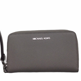 Primary Photo - BRAND: MICHAEL BY MICHAEL KORS STYLE: WALLET COLOR: GREY SIZE: MEDIUM SKU: 155-15599-243734