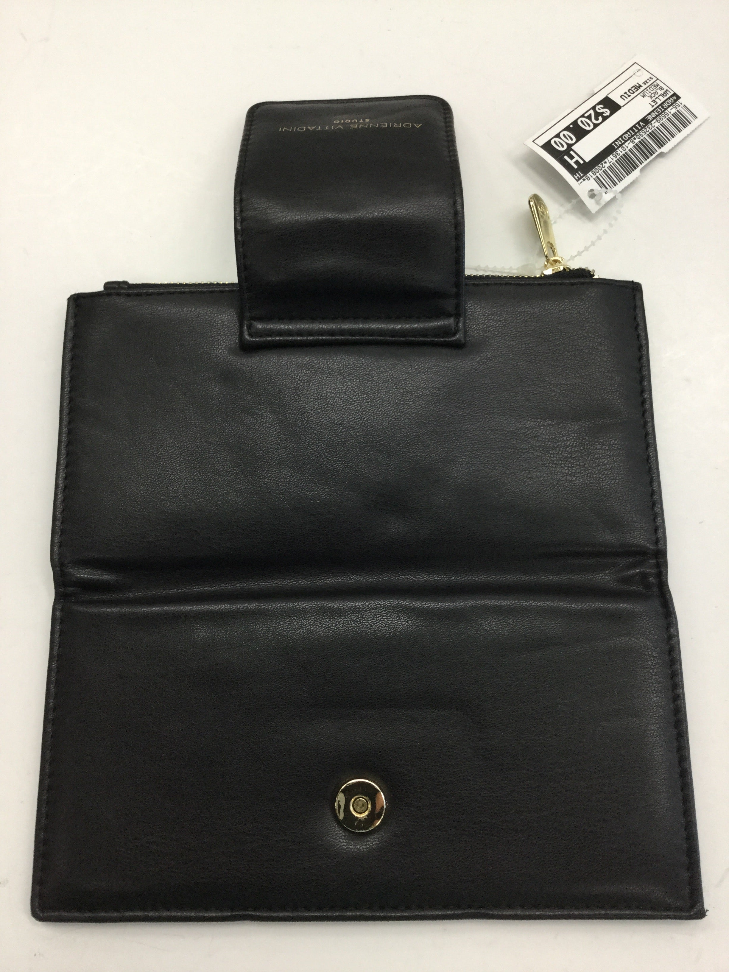 Photo #2 - BRAND: ADRIENNE VITTADINI <BR>STYLE: WALLET <BR>COLOR: BLACK <BR>SIZE: MEDIUM <BR>SKU: 155-15599-232530