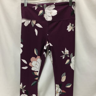 Primary Photo - BRAND: ATHLETA STYLE: ATHLETIC CAPRIS COLOR: PLUM SIZE: M SKU: 155-155224-13892