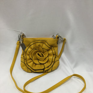 Primary Photo - BRAND:    CLOTHES MENTOR STYLE: HANDBAG COLOR: YELLOW SIZE: SMALL OTHER INFO: TASHA - SKU: 155-155220-8168