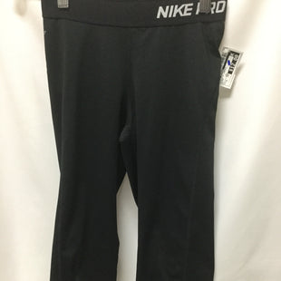 Primary Photo - BRAND: NIKE APPAREL STYLE: ATHLETIC CAPRIS COLOR: BLACK SIZE: S SKU: 155-15599-239070