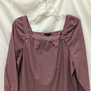 Primary Photo - BRAND: J CREW STYLE: TOP LONG SLEEVE COLOR: BURGUNDY SIZE: M SKU: 155-155201-17672