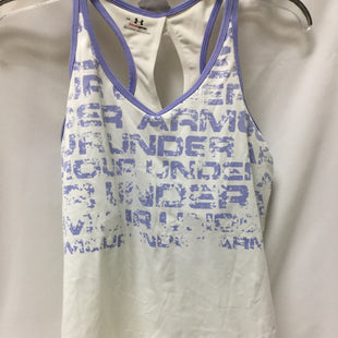 Primary Photo - BRAND: UNDER ARMOUR STYLE: ATHLETIC TANK TOP COLOR: WHITE SIZE: L SKU: 155-155224-19510