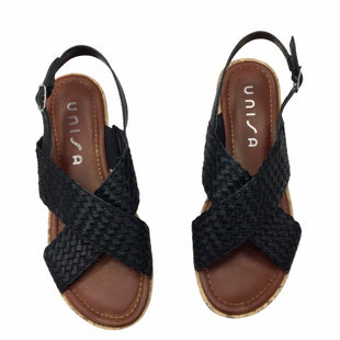 Primary Photo - BRAND: UNISA STYLE: SANDALS LOW COLOR: BLACK SIZE: 9 SKU: 155-155224-6986