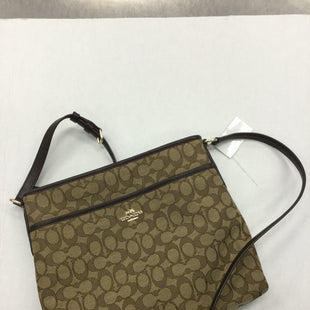 Primary Photo - BRAND: COACH STYLE: HANDBAG DESIGNER COLOR: BROWN SIZE: MEDIUM SKU: 155-15599-237642