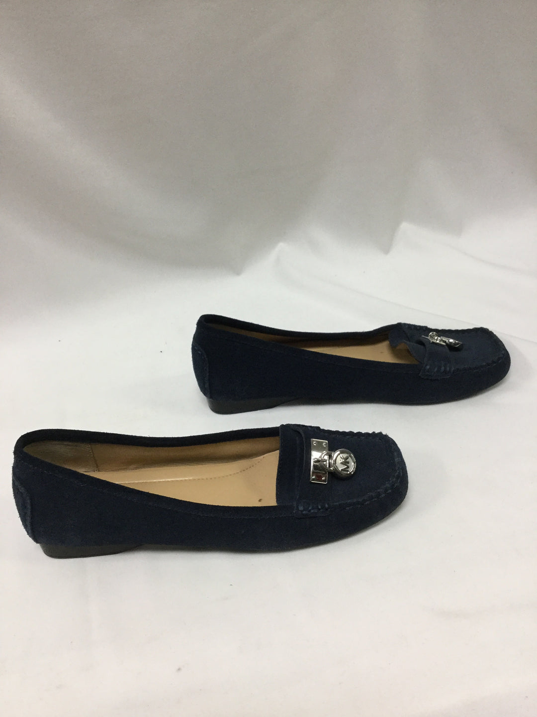 Photo #1 - BRAND: MICHAEL BY MICHAEL KORS <BR>STYLE: SHOES FLATS <BR>COLOR: BLUE <BR>SIZE: 6 <BR>SKU: 155-15599-235866