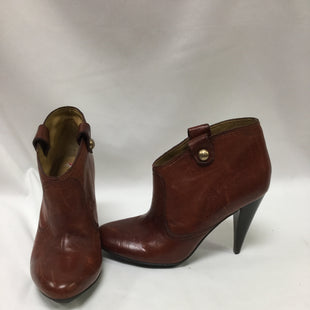 Primary Photo - BRAND: COACH STYLE: BOOTS ANKLE COLOR: CARAMEL SIZE: 6 SKU: 155-155130-214300R