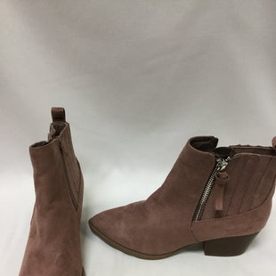 Primary Photo - BRAND: CARLOS SANTANA STYLE: BOOTS ANKLE COLOR: PINK SIZE: 8.5 SKU: 155-155233-96