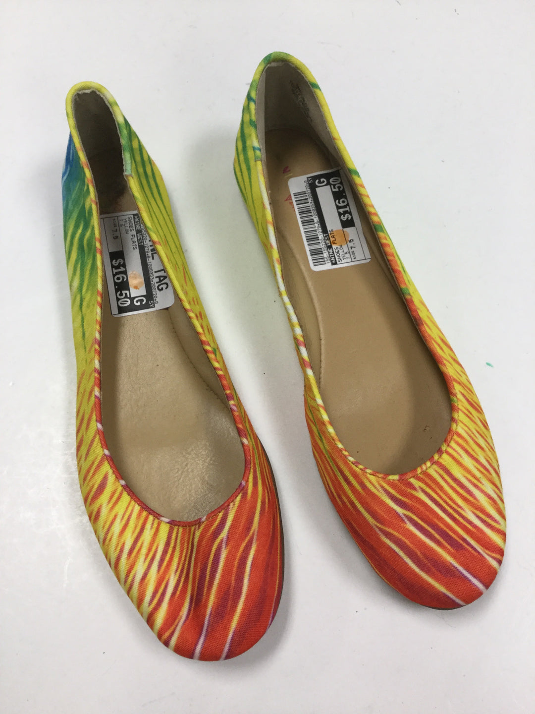 Primary Photo - BRAND: NINE WEST <BR>STYLE: SHOES FLATS <BR>COLOR: RAINBOW <BR>SIZE: 7.5 <BR>SKU: 155-155220-1279