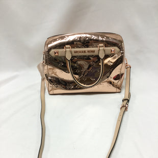 Primary Photo - BRAND: MICHAEL BY MICHAEL KORS STYLE: HANDBAG DESIGNER COLOR: ROSE SIZE: MEDIUM OTHER INFO: NOTED SKU: 155-15599-239415