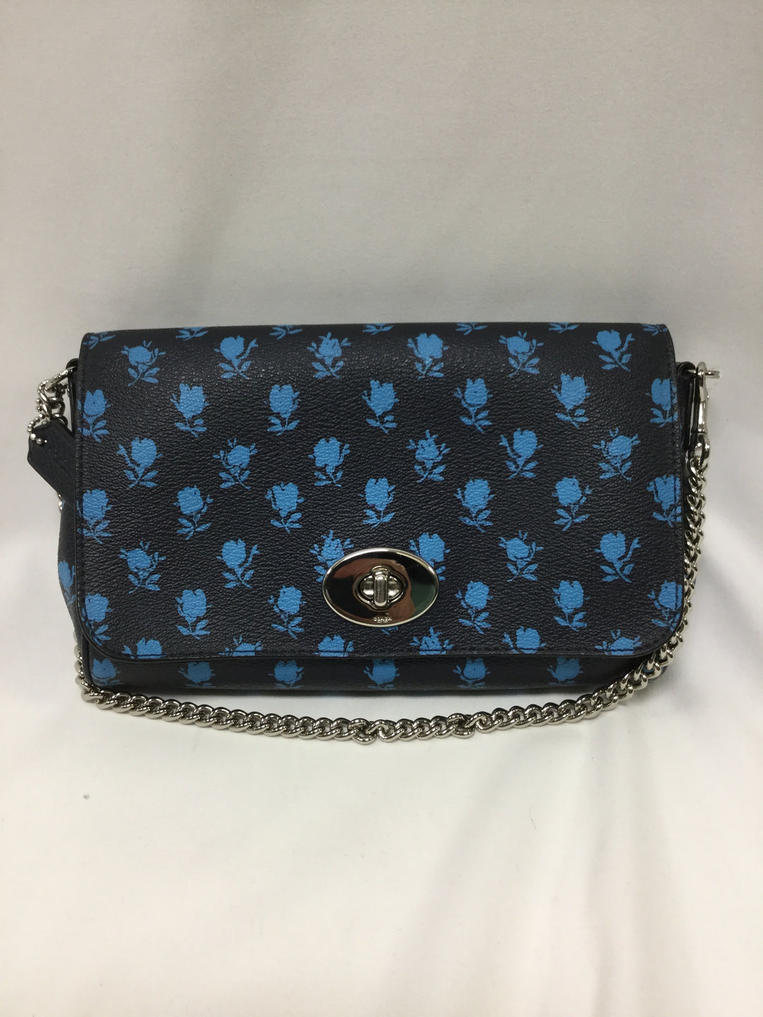 Photo #1 - BRAND: COACH <BR>STYLE: HANDBAG DESIGNER <BR>COLOR: NAVY <BR>SIZE: SMALL <BR>SKU: 155-155220-7143