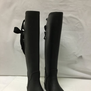 Primary Photo - BRAND: COACH STYLE: BOOTS RAIN COLOR: BLACK SIZE: 6 OTHER INFO: SLIGHT WEAR NOTED SKU: 155-155130-204966