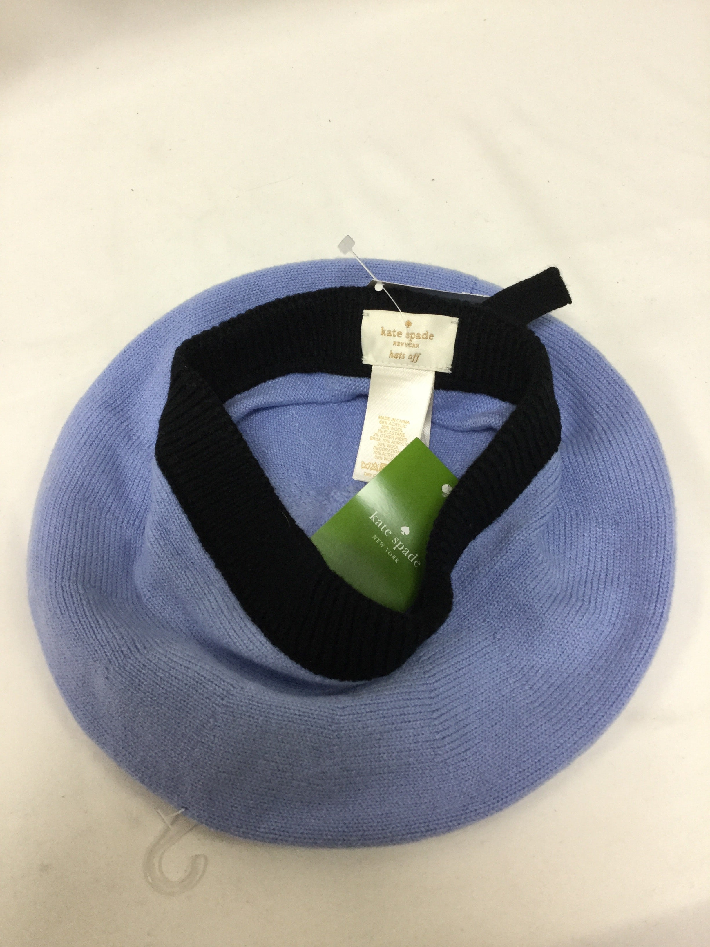 Photo #2 - BRAND: KATE SPADE <BR>STYLE: HAT <BR>COLOR: BABY BLUE <BR>SKU: 155-15545-209010