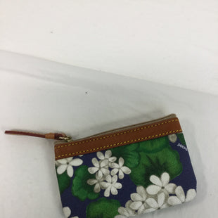 Primary Photo - BRAND: DOONEY AND BOURKE STYLE: COIN PURSE COLOR: BLUE SIZE: SMALL SKU: 155-15599-229556