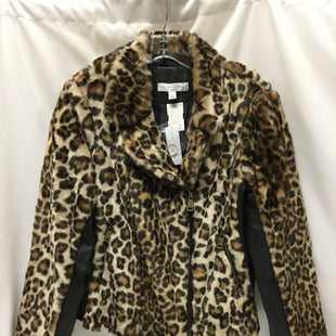 Primary Photo - BRAND: NEW YORK AND CO STYLE: COAT SHORT COLOR: ANIMAL PRINT SIZE: M SKU: 155-155178-10273