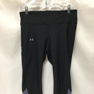Primary Photo - BRAND: UNDER ARMOUR STYLE: ATHLETIC CAPRIS COLOR: BLACK SIZE: L SKU: 155-155228-1059