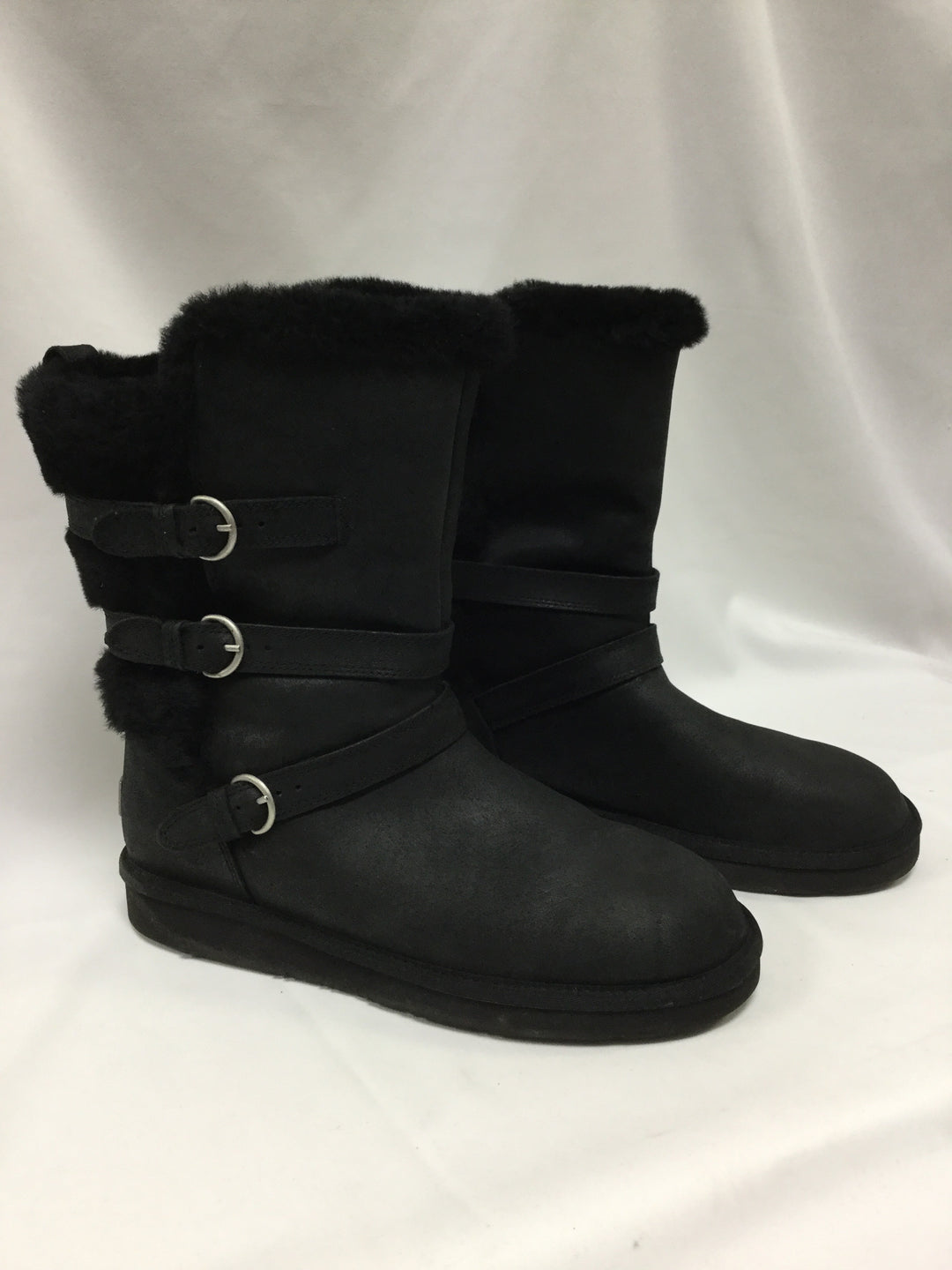 Primary Photo - BRAND: UGG <BR>STYLE: BOOTS KNEE <BR>COLOR: BLACK <BR>SIZE: 11 <BR>SKU: 155-15599-235498