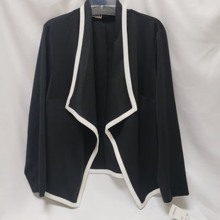 Primary Photo - BRAND: ELEMENTZ STYLE: BLAZER JACKET COLOR: BLACK SIZE: 2X SKU: 155-15545-209221