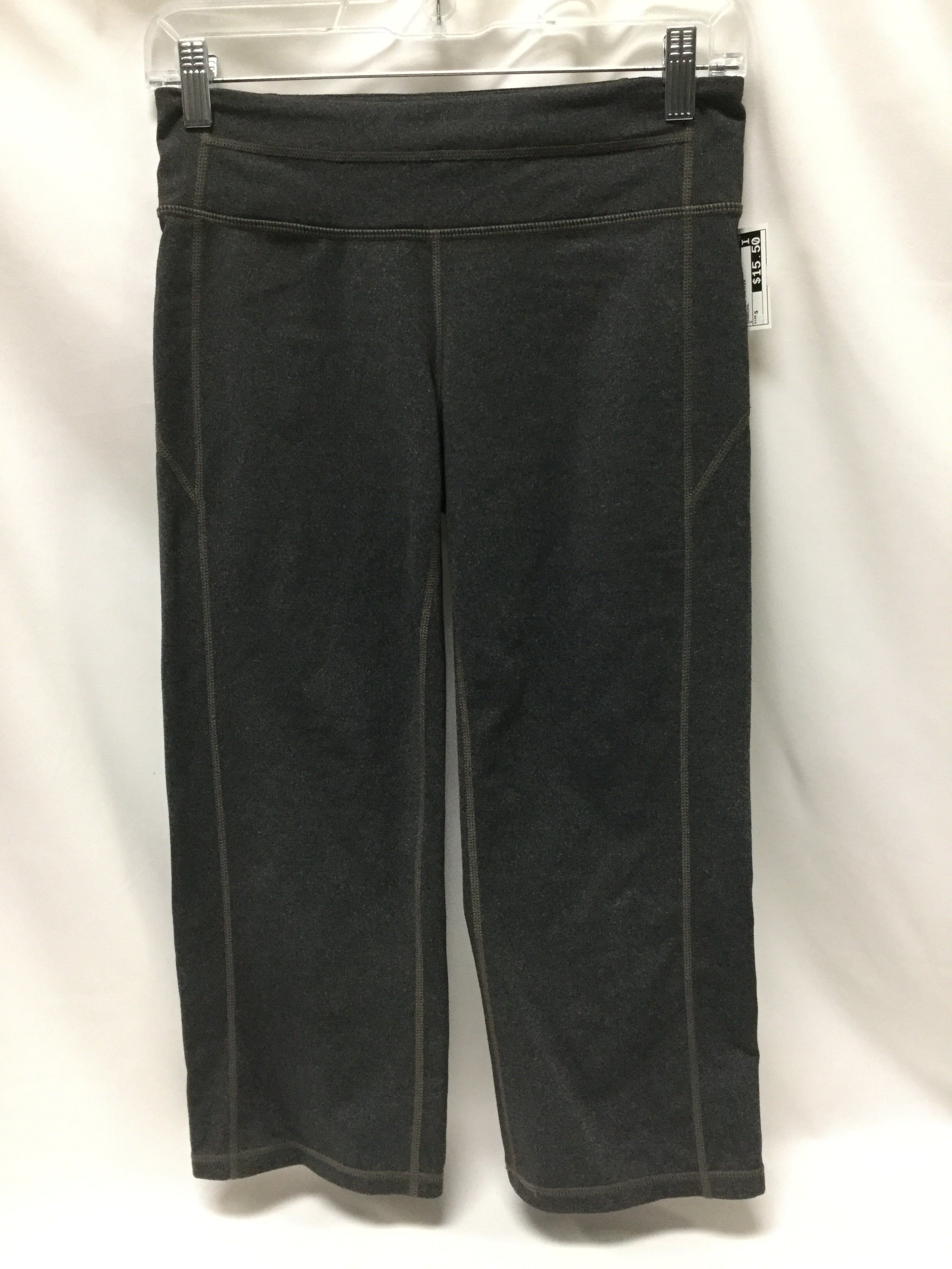 Primary Photo - BRAND: ATHLETA <BR>STYLE: ATHLETIC CAPRIS <BR>COLOR: CHARCOAL <BR>SIZE: S <BR>SKU: 155-155185-7076