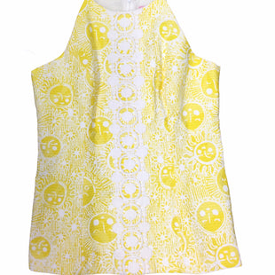 Primary Photo - BRAND: LILLY PULITZER STYLE: TOP SLEEVELESS COLOR: YELLOW SIZE: S SKU: 155-155224-24640