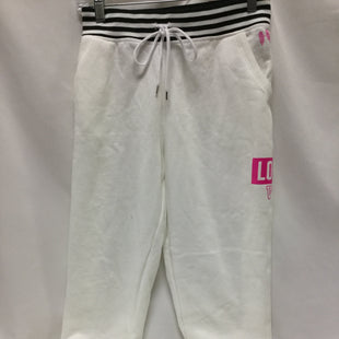 Primary Photo - BRAND: VICTORIAS SECRET STYLE: ATHLETIC PANTS COLOR: WHITE SIZE: M SKU: 155-155224-16245
