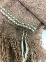 Photo #1 - BRAND:    CLOTHES MENTOR <BR>STYLE: SCARF WINTER <BR>COLOR: PINK OLIVE WHITE<BR>SKU: 155-15599-236022