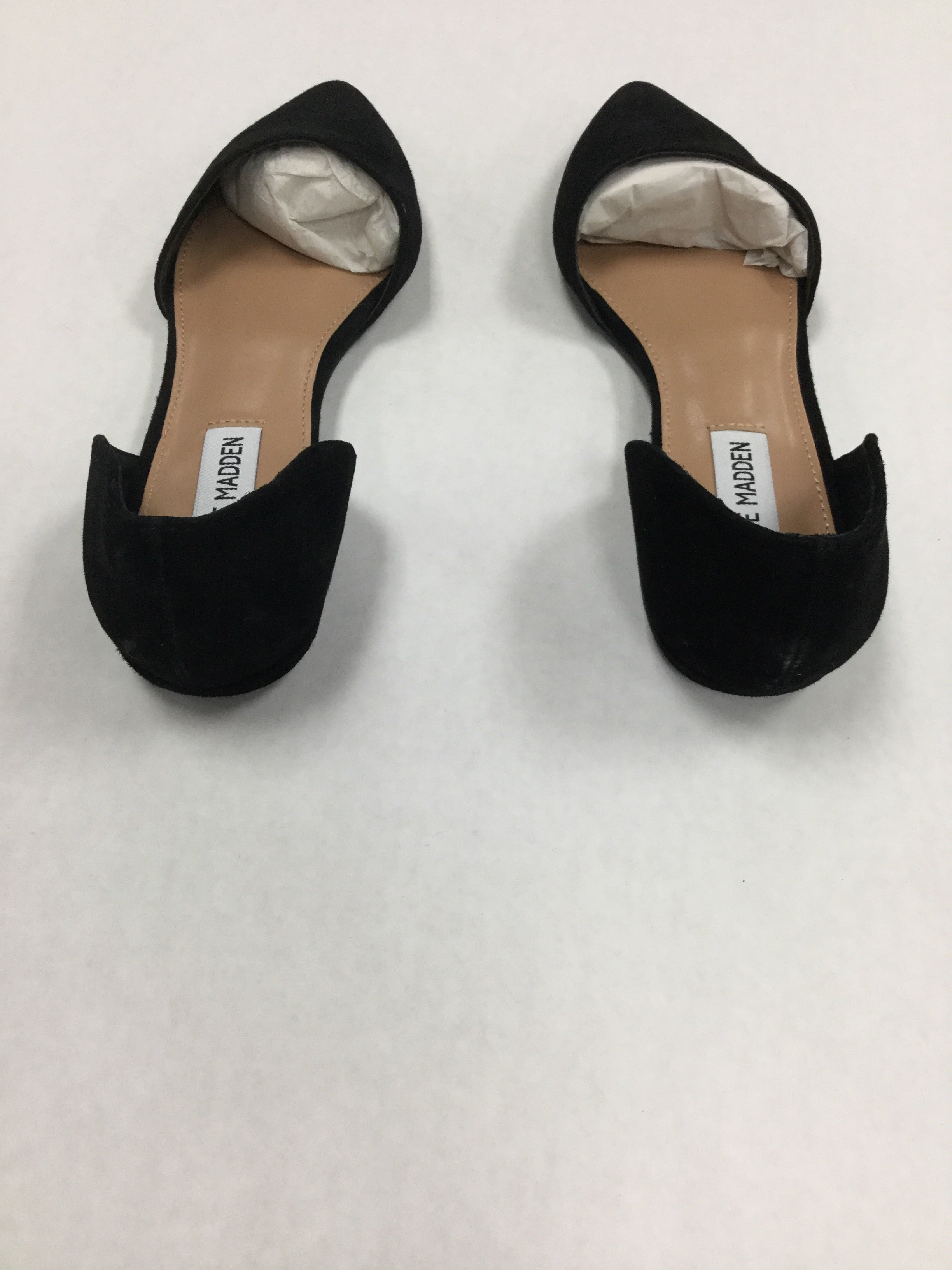 Photo #2 - BRAND: STEVE MADDEN <BR>STYLE: SHOES FLATS <BR>COLOR: BLACK <BR>SIZE: 7.5 <BR>SKU: 155-155220-3634