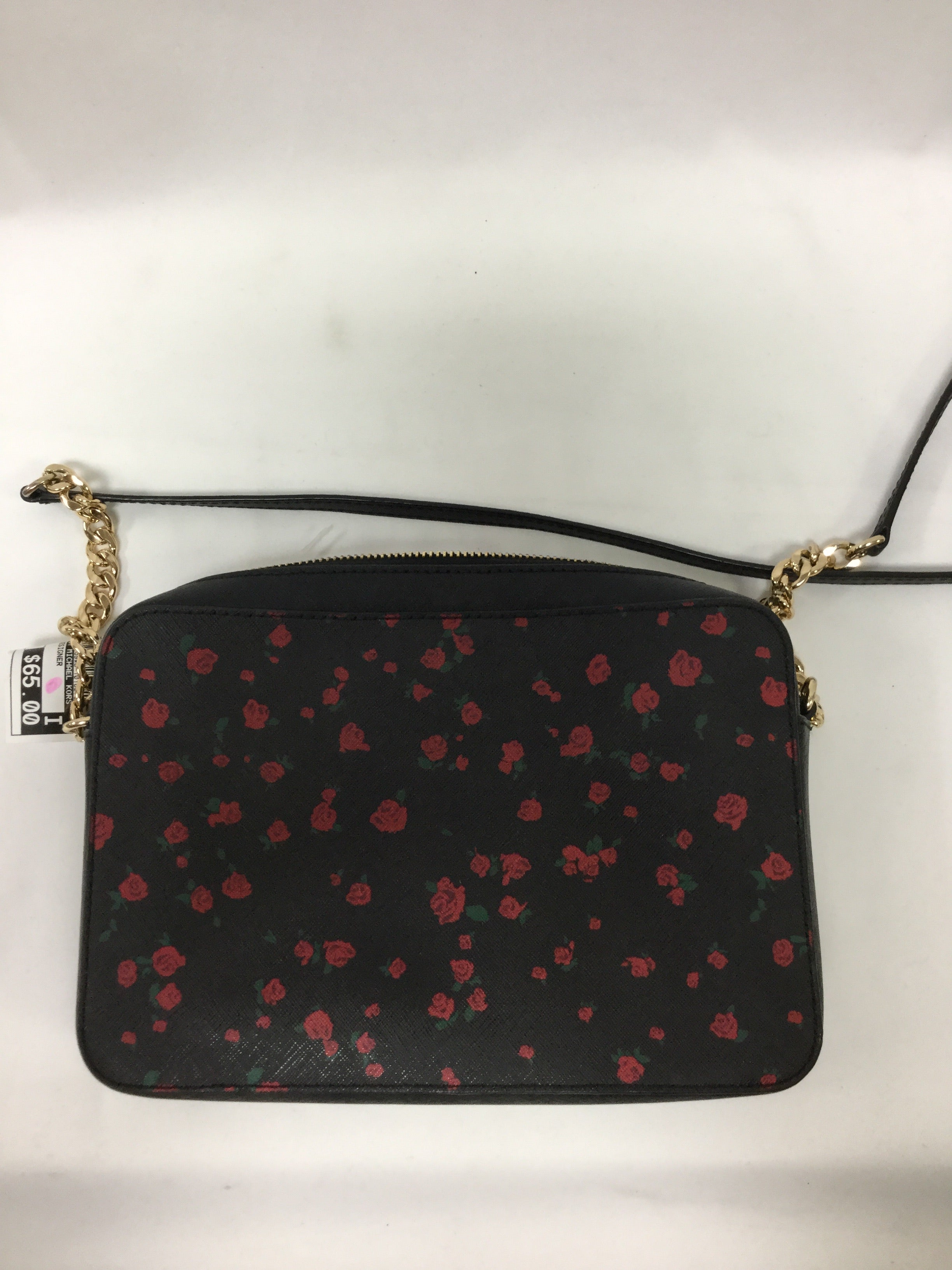 Photo #1 - BRAND: MICHAEL BY MICHAEL KORS <BR>STYLE: HANDBAG DESIGNER <BR>COLOR: FLORAL <BR>SIZE: MEDIUM <BR>SKU: 155-155130-211359