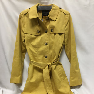 Primary Photo - BRAND: TALBOTS STYLE: JACKET OUTDOOR COLOR: YELLOW SIZE: M SKU: 155-155220-8703