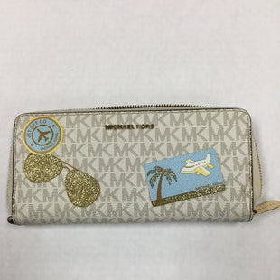 Primary Photo - BRAND: MICHAEL BY MICHAEL KORS STYLE: WALLET COLOR: IVORY SIZE: LARGE OTHER INFO: SOME WEAR NOTED SKU: 155-155130-214220