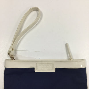 Primary Photo - BRAND: KATE SPADE STYLE: WRISTLET COLOR: NAVY OTHER INFO: NOTED--SCRATCH SKU: 155-155187-23856