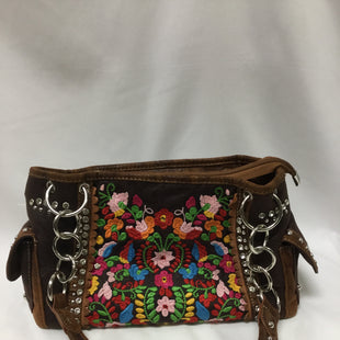 Primary Photo - BRAND:    CLOTHES MENTOR STYLE: HANDBAG COLOR: FLORAL SIZE: MEDIUM OTHER INFO: MONTANA WEST - SKU: 155-155220-6735