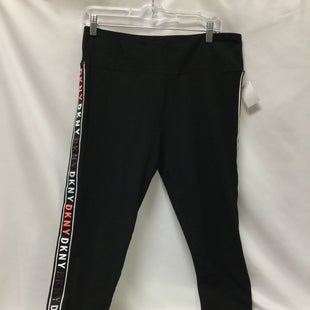 Primary Photo - BRAND: DKNY STYLE: ATHLETIC CAPRIS COLOR: BLACK SIZE: XL SKU: 155-155187-24727