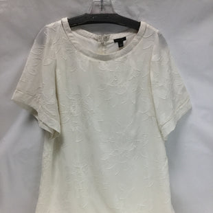 Primary Photo - BRAND: ANN TAYLOR STYLE: DRESS SHORT SHORT SLEEVE COLOR: CREAM SIZE: L OTHER INFO: NEW! SKU: 155-155185-5508