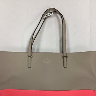 Primary Photo - BRAND: KATE SPADE STYLE: HANDBAG COLOR: NUDE SIZE: LARGE OTHER INFO: SLIGHT WEAR ON CORNERS SKU: 155-155228-381