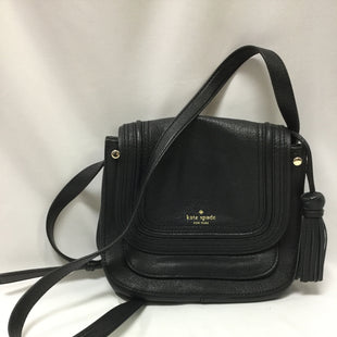 Primary Photo - BRAND: KATE SPADE STYLE: HANDBAG DESIGNER COLOR: BLACK SIZE: MEDIUM SKU: 155-15599-236023