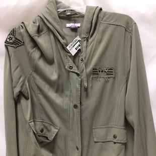 Primary Photo - BRAND: MAURICES STYLE: BLAZER JACKET COLOR: OLIVE SIZE: L SKU: 155-155224-15860