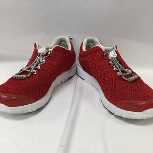 Primary Photo - BRAND:    CLOTHES MENTOR STYLE: SHOES ATHLETIC COLOR: RED SIZE: 7 SKU: 155-15599-226975PROPET BRAND