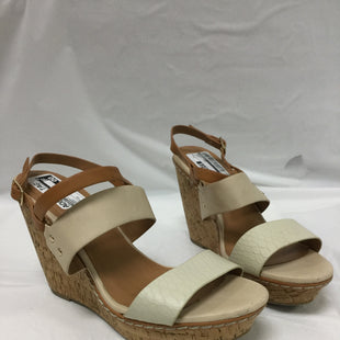Primary Photo - BRAND: MAURICES STYLE: SANDALS HIGH COLOR: CREAM SIZE: 11 SKU: 155-155224-4697