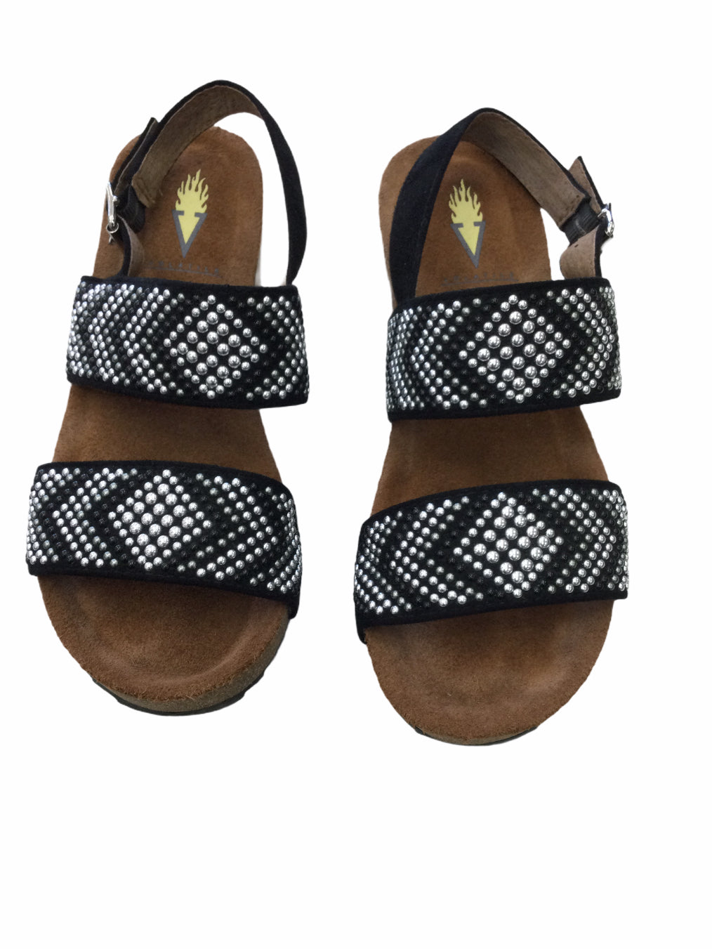 Primary Photo - BRAND: VOLATILE <BR>STYLE: SANDALS LOW <BR>COLOR: BLACK <BR>SIZE: 6 <BR>SKU: 155-15599-243653