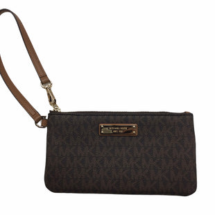 Primary Photo - BRAND: MICHAEL BY MICHAEL KORS STYLE: WRISTLET COLOR: BROWN SIZE: S OTHER INFO: NOTED SKU: 155-155215-5030