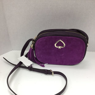 Primary Photo - BRAND: KATE SPADE STYLE: HANDBAG DESIGNER COLOR: PURPLE SIZE: SMALL SKU: 155-155185-8336