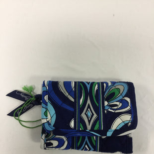 Primary Photo - BRAND: VERA BRADLEY O STYLE: WALLET COLOR: BLUE GREEN SIZE: SMALL OTHER INFO: NEW! SKU: 155-155130-203006POCKET WALLET IN MEDITERRANEAN BLUE