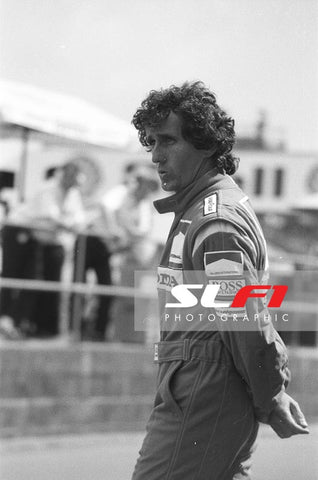Alain Prost - 1989 British Grand Prix