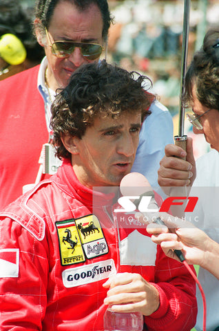Alain Prost - 1991 British Grand Prix