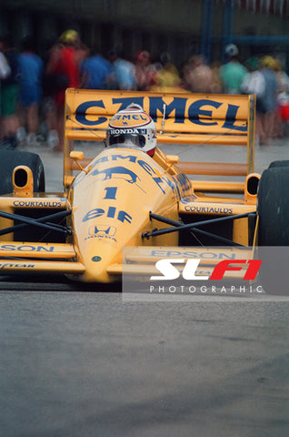 Nelson Piquet - 1988 Brazilian Grand Prix
